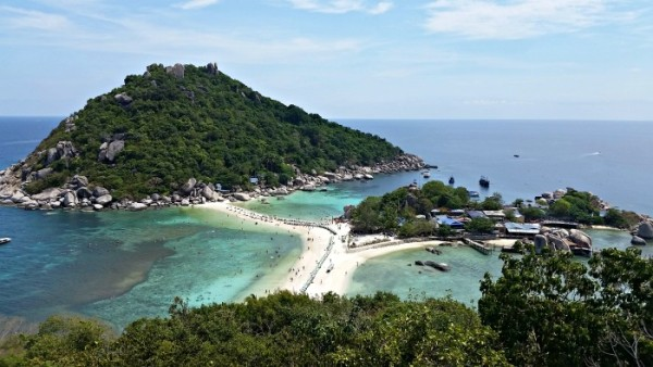 Koh Nang Yuan - view point
